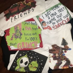 Custom christmas shirts all sizes available